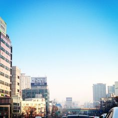 Wednesday morning in Seoul