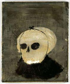 Norbert Schwontkowski  Title: Verkleidung - Year: 2008  Material: Oil on Canvas - 55,6 x 46,1 x 2,3 cm