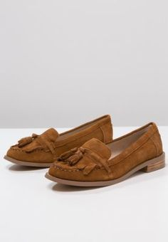 Topshop - LAKER - Instappers - brown