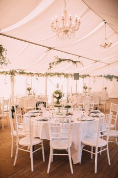 Elegant tented wedding: http://www.stylemepretty.com/destination-weddings/2015/03/23/whimsical-french-chateau-wedding/ | Photography: Coralie - http://coraliephotography.com/