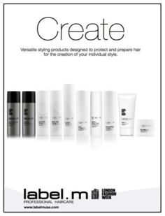 m collection will revitalize your hair and let you create your perfect look Create Yourself, Your Hair, Hair Care, Label, Collection, Design, Hair Makeup, Design Comics, Hair Care Tips