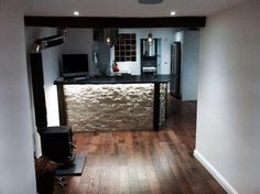 Shop conversion into funky bachelor pad!!