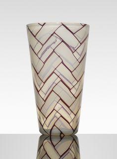Ercole Barovier (1889-1974), glass vase.