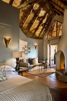 Perched high up on the Madikwe hillside, Dithaba Lodge offers a unique Safari experience, with endless savannah, woodland and…