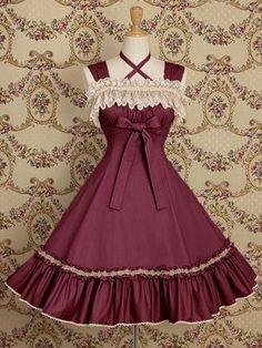 plus size summer women Lolita dress sleeveless lace cotton dress lolita cosplay Costume woman clothing elegant party dress Red Fancy Dress, Fancy Prom Dresses, Elegant Party Dresses, Royal Dresses, Ball Dresses, Pretty Dresses, Beautiful Dresses, Vintage Dresses, Short Dresses