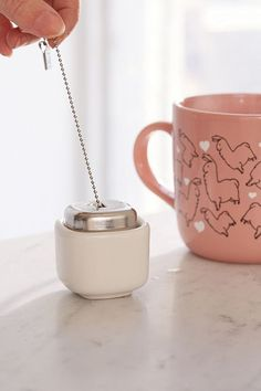 Tea Diffuser + Holder Set | Urban Outfitters