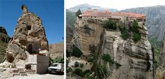 From Cappadocia to Missouri: Over 30 Gorgeous Cave Houses | Urbanist / Rocks homes are by nature unique, but some are more interesting than others. A home built into a freestanding stone looks unusual but amazing, whereas an entire monastery built out of the very rock it rests on is wondrous in its own right.
