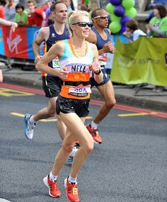 Stick to a training plan, drink protein shakes and neglect the housework! How Nell McAndrew went from amateur jogger to top marathon runner    Read ore: http://www.dailymail.co.uk/femail/article-2136006/How-Nell-McAndrew-went-amateur-jogger-talented-marathon-runner.html#ixzz1tS6VzG5z
