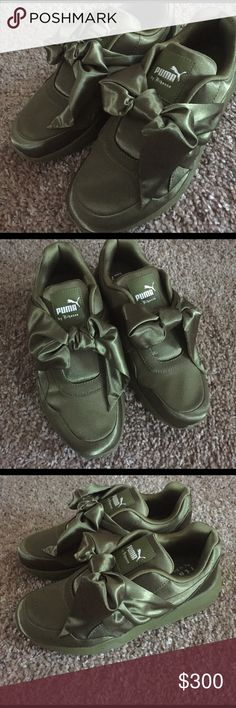 buy popular 1a36f 1b8d1 Rihanna Puma Fenty Satin Sneakers New with box and dustbag. Authentic,  never worn. GORGEOUS❤ Puma Shoes Sneakers - Find deals and best selling  products for ...