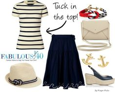 New Nautical - How to Climb On Board This Spring Trend