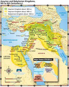 media babylonia assyria map - Google Search