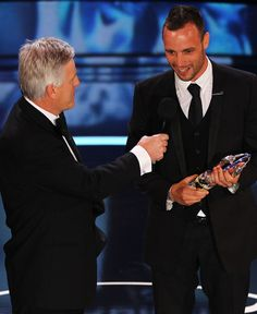Oscar Pistorius at the Laureus Awards