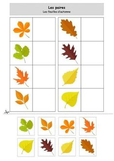 Nounou Lolo 88 - Page 2 Forest School Activities, Autumn Activities For Kids, Fall Preschool, Fall Crafts For Kids, Toddler Crafts, Preschool Crafts, Kindergarten Math Activities, Kids Math Worksheets, Kids Learning Activities