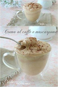 Crema Fredda con Caffè e Mascarpone Gelato, Mousse, Nutella, Nom Nom, Buffet, Biscuits, Food And Drink, Ice Cream, Sweets