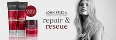 Full Repair™ by John Frieda® - The cure for overworked hair. Rescue dry, damaged, unmanageable hair with the new product innovations from the Full Repair® range [WIN] New Paris, The Cure, Competition, Hair Beauty, Cute Hair