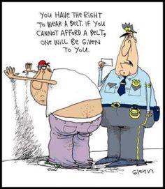 hahaha..we should start a belt program for those affected by this problem ;)