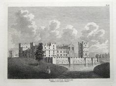 RABY CASTLE DURHAMPublished London 1783 by Samuel Hooper in Francis Grose s The Antiquities of England and Wales An attractive and finely executed