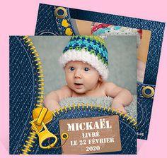 Faire-part naissance réf. N31106 chez monFairePart.com