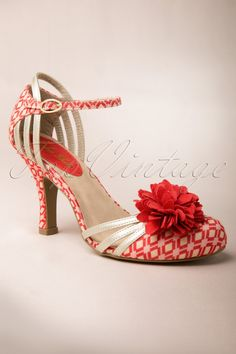Ruby Shoo - 60s Kate Ankle Strap Pumps