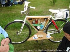 Innovation: Picnic bicycle Modified to hold eatables drinking items | Picnic bicycle | interesting pics | innovative design | innovation in ...