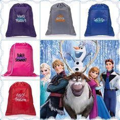 Frozen... This is a Cutie Idea for ALL the little ones that LOVE FROZEN!!! Contact me for more information