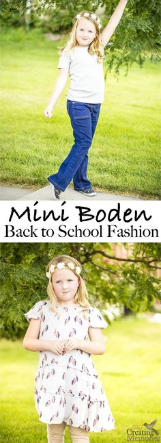 Discover unique and witty Kids Fashion clothing just in time for Back to School at Mini Boden. A Brittish fashion line dedicated to quality clothing. Including dresses, jeans, casual shirts, and more. #BacktoschoolwithBoden #IC AD