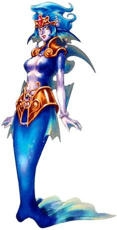 Irenes Chrono Cross Character - Harp weapon = bonus points of awesome