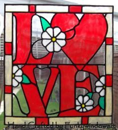 stained glass letters - Google Search