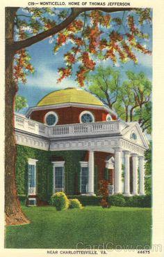 Monticello - Charlottesville, Virginia