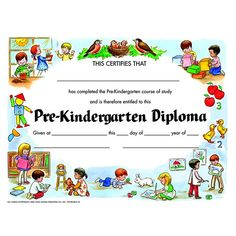 PRE-KINDERGARTEN DIPLOMA 30/PK
