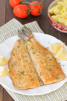 Pan Fried Butterflied Trout