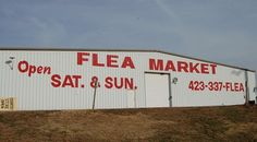Sweetwater Flea Market Sweetwater TN  Has EVERYTHING and then some ..  plus all the best snack vendors!!
