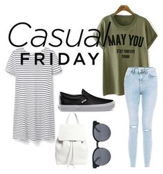 Casual Friday by d-regina-f-r on Polyvore featuring polyvore, fashion, style, MANGO, Vans, Mansur Gavriel, Quay and clothing