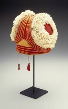 Cameroon, Grasslands area, Bamun people Chief's Hat First half of the 20th Century