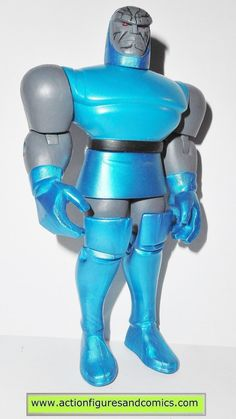 mattel toys action figures for sale to buy: JUSTICE LEAGUE UNLIMITED (dc universe animated) DARKSEID 100% COMPLETE Condition: overall excellent. nice paint, nice joints. nothing broken, damaged, or mi