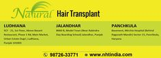 Natural hair transplant is world class hair transplant service provider in India. We have professional surgeons team for hair transplant in Ludhiana. We provide best services to our customers. Here in NHT clinics we use FUE, FUT hair transplant technique. Our services are available in all over India. Visit our webpage for book your appointment with world class Doctors. Our staring price is Rs. 35000 for 1000 to 1500 grafts. Call us @9872633771