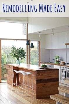 It's no secret that remodelling a home or garden not only adds value to the property, it's also an incredibly satisfying way to stamp your identity onto your new home and ensure that it works perfe...