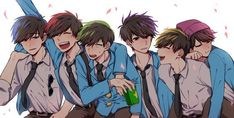 Osomatsu-san [One-Shots] - 松Moments: Embarazo - Wattpad Anime Manga, Anime Art, Osomatsu San Doujinshi, Dark Anime Guys, Wattpad, Ichimatsu, Yandere, Me Me Me Anime, Amazing Art