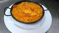 Receta de Arroz con bacalao para la Cuaresma, también para los celíacos del Restaurante Sociedad Plateros Maria Auxiliadora.