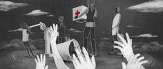 Animação sofisticada divulga campanha da Cruz Vermelha. Criado pela Holbrooks e blacklist.tv, Parcel segue a trajetória de doações em diferentes situações de crises