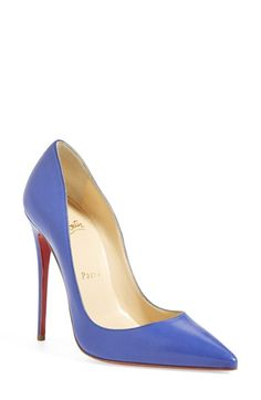 Christian Louboutin 'So Kate' Pointy Toe Leather Pump available at #Nordstrom