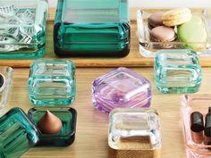 Iittala Vitriini Glass Boxes