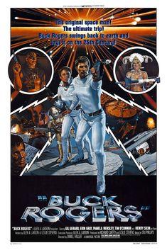 BUCK ROGERS IN THE25th CENTURY Movie Poster Sci-Fi Classic Star Trek