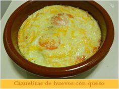 """""""cazuelitas de huevo con queso"""""""