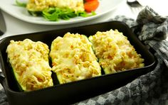 Baked zucchini with vegetable wheat Zucchini, Cauliflower, Macaroni And Cheese, Vegetables, Ethnic Recipes, News, Food, Mac And Cheese, Cauliflowers