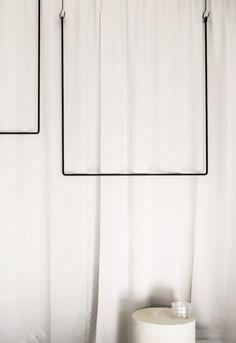 Clothing rail rectangle naked version – ANNALEENAS HEM AB Wardrobe Storage, Aesthetic Pastel Wallpaper, Store Interiors, Aesthetic Vintage, Ceiling Design, Retail Design, Oeuvre D'art, Store Design, Interior Inspiration