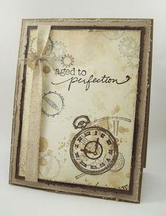 Aged to Perfection by mamaxsix - Cards and Paper Crafts at Splitcoaststampers
