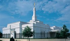 Oklahoma City Oklahoma Temple of The Church of Jesus Christ of Latter-Day Saints #LDS #Mormon