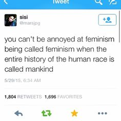 Feminism is simply equal rights for all genders. Intersectional Feminism, We Are The World, Women Rights, Equal Rights, Patriarchy, Faith In Humanity, Social Justice, Equality, Decir No