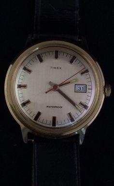 Catawiki online auction house: Timex - Herenpolshorloge - Staal - Jaren 60